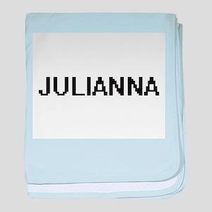 Julianna Digital Name baby blanket