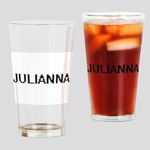 Julianna Digital Name Drinking Glass