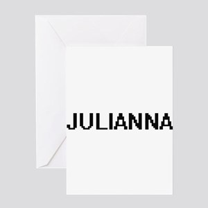 Julianna Digital Name Greeting Cards