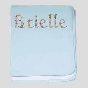 Brielle Seashells baby blanket