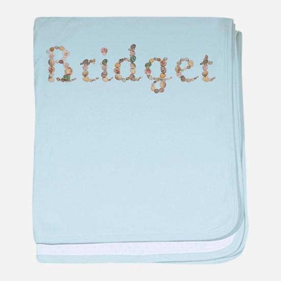 Bridget Seashells baby blanket