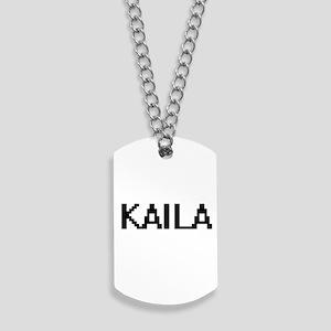 Kaila Digital Name Dog Tags