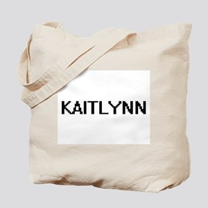 Kaitlynn Digital Name Tote Bag