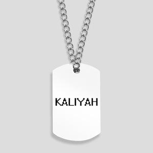 Kaliyah Digital Name Dog Tags
