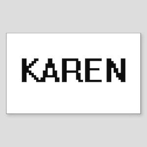 Karen Digital Name Sticker