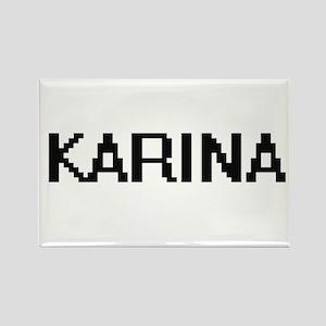Karina Digital Name Magnets