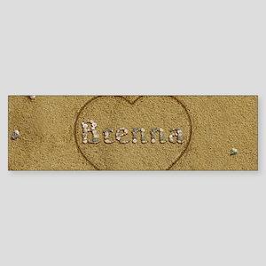 Brenna Beach Love Sticker (Bumper)