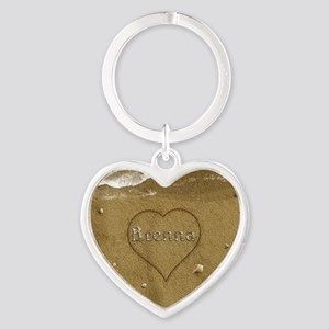 Brenna Beach Love Heart Keychain