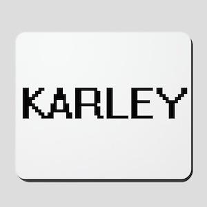 Karley Digital Name Mousepad