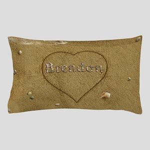 Brendon Beach Love Pillow Case