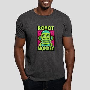 Robot Monkey Dark T-Shirt