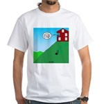 Cliff House White T-Shirt