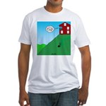 Cliff House Fitted T-Shirt