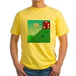 Cliff House Yellow T-Shirt