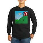 Cliff House Long Sleeve Dark T-Shirt