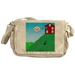 Cliff House Messenger Bag