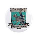 USS HARRY E. HUBBARD Button
