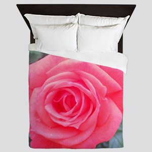 Pink Rose Queen Duvet