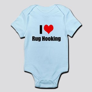 I Heart Rug Hooking Body Suit