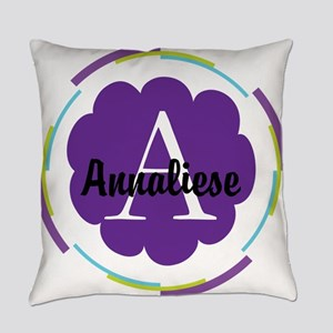 Personalized Name Monogram Gift Everyday Pillow
