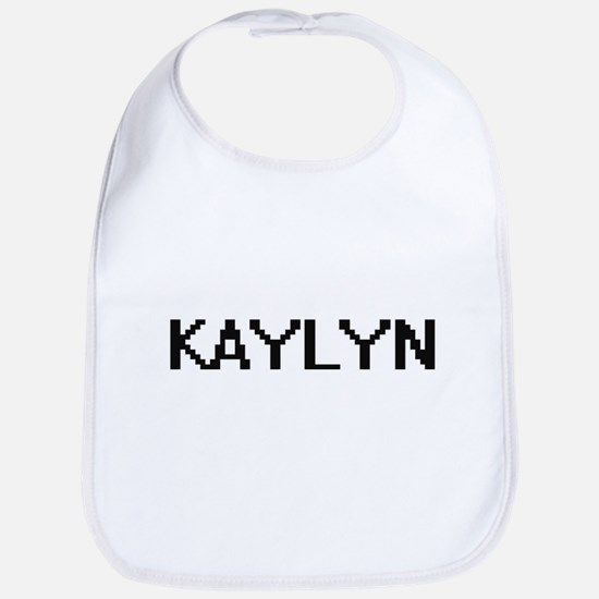Kaylyn Digital Name Bib