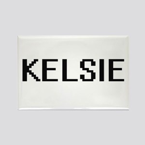 Kelsie Digital Name Magnets