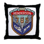 USS HENDERSON Throw Pillow
