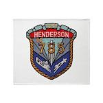 USS HENDERSON Throw Blanket