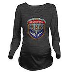 USS HENDERSON Long Sleeve Maternity T-Shirt