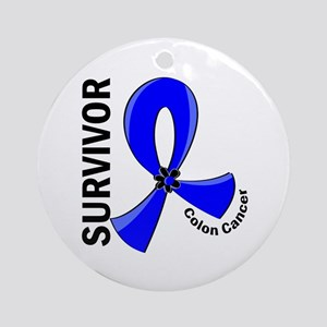 Colon Cancer Survivor 12 Ornament (Round)