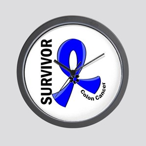 Colon Cancer Survivor 12 Wall Clock
