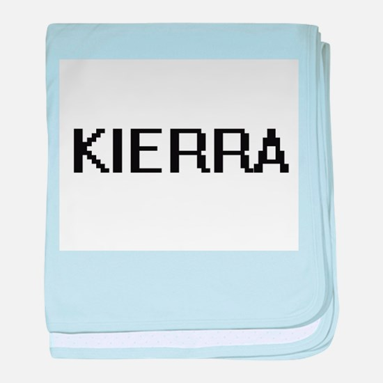 Kierra Digital Name baby blanket