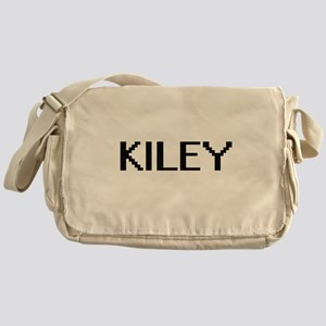 Kiley Digital Name Messenger Bag