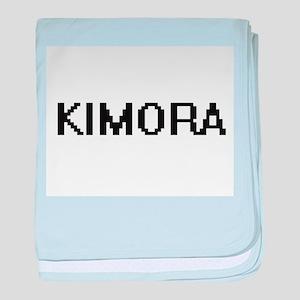 Kimora Digital Name baby blanket