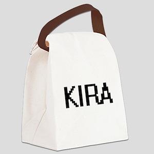 Kira Digital Name Canvas Lunch Bag