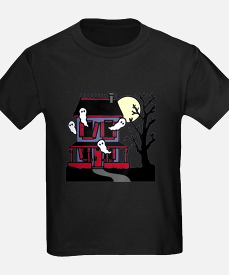 haunted-house10x10b T-Shirt