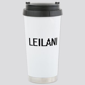 Leilani Digital Name Stainless Steel Travel Mug