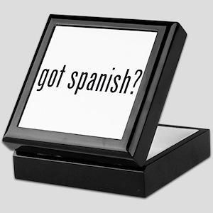 got spanish? Keepsake Box