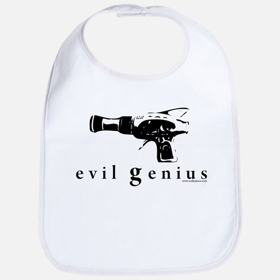 evil genius Bib
