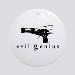 evil genius Ornament (Round)