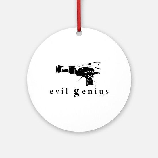 evil genius Ornament (Round)
