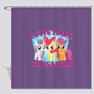 My LIttle Pony Cutie Mark Shower Curtain