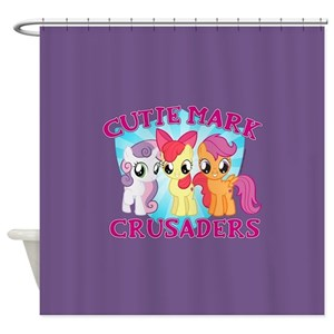 Little Pony Shower Curtains