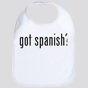 got spanish? Bib