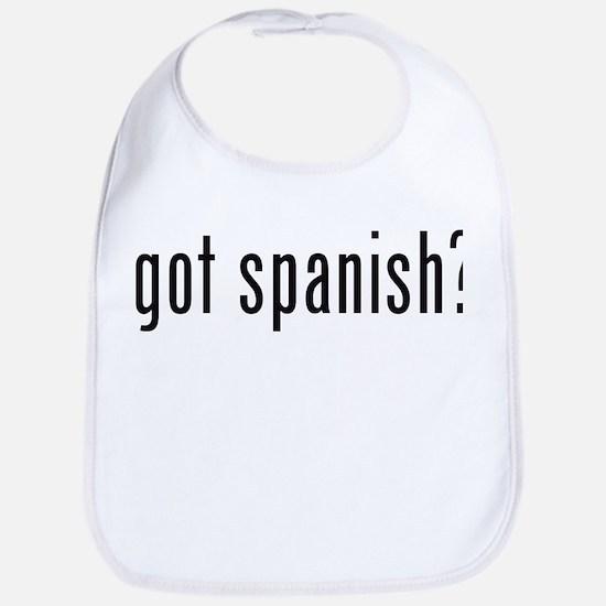 got spanish? Bib