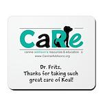 Custom Mousepad For Dr Fritz