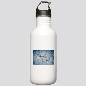 Music voice of the sou Stainless Water Bottle 1.0L