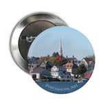 "Portsmouth NH Waterfront 2.25"" Button (100 pack)"