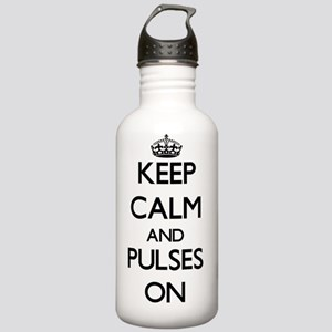 Keep Calm and Pulses O Stainless Water Bottle 1.0L