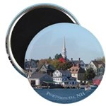 "Portsmouth NH Waterfront 2.25"" Magnet (100 pack)"